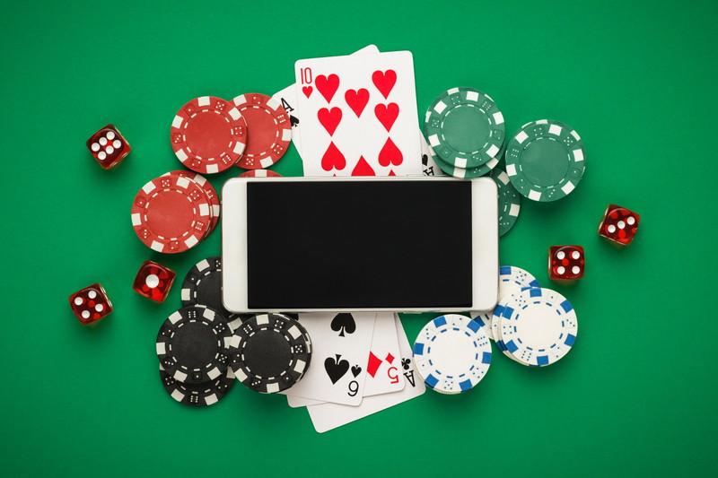 スマートフォンでオンラインカジノ